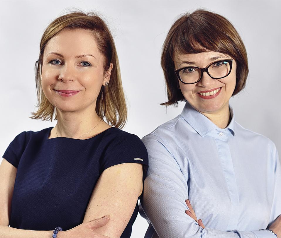 Carine Stranz Rambowicz i Agnieszka Remus